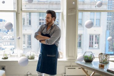 Scott Conant in apron