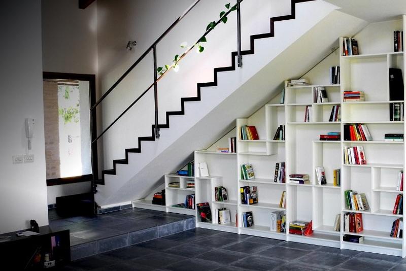 Design Idea #3 - Staircase Bookcase