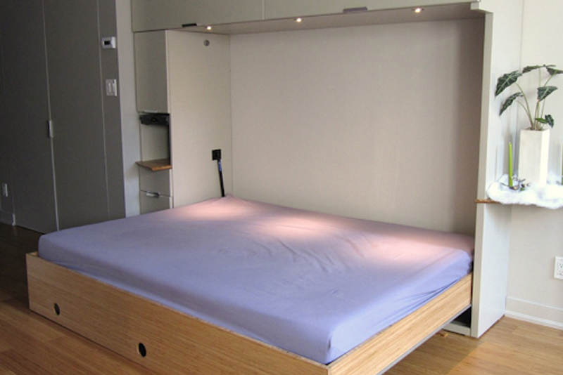 DIY Murphy Bed - Step #13 Attach Your Hardware