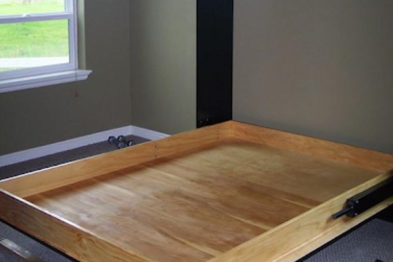 DIY Murphy Bed - Step #3 Create The Struts