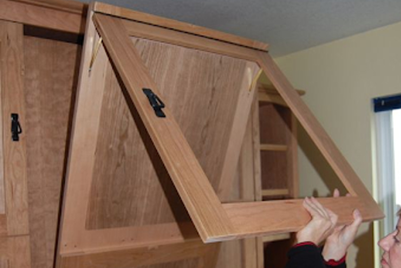 DIY Murphy Bed - Step #12 Mount The Cabinet