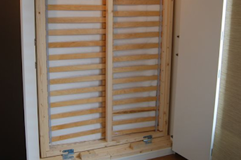 DIY Murphy Bed - Step #8 Position The Panels