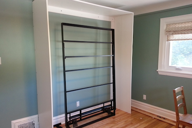 DIY Murphy Bed - Step #5 Round The Corners