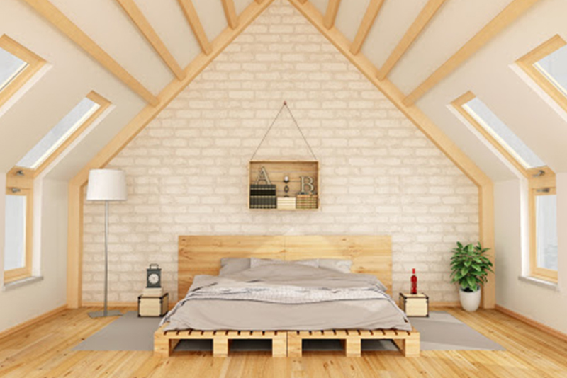 Particleboard Bed Frame