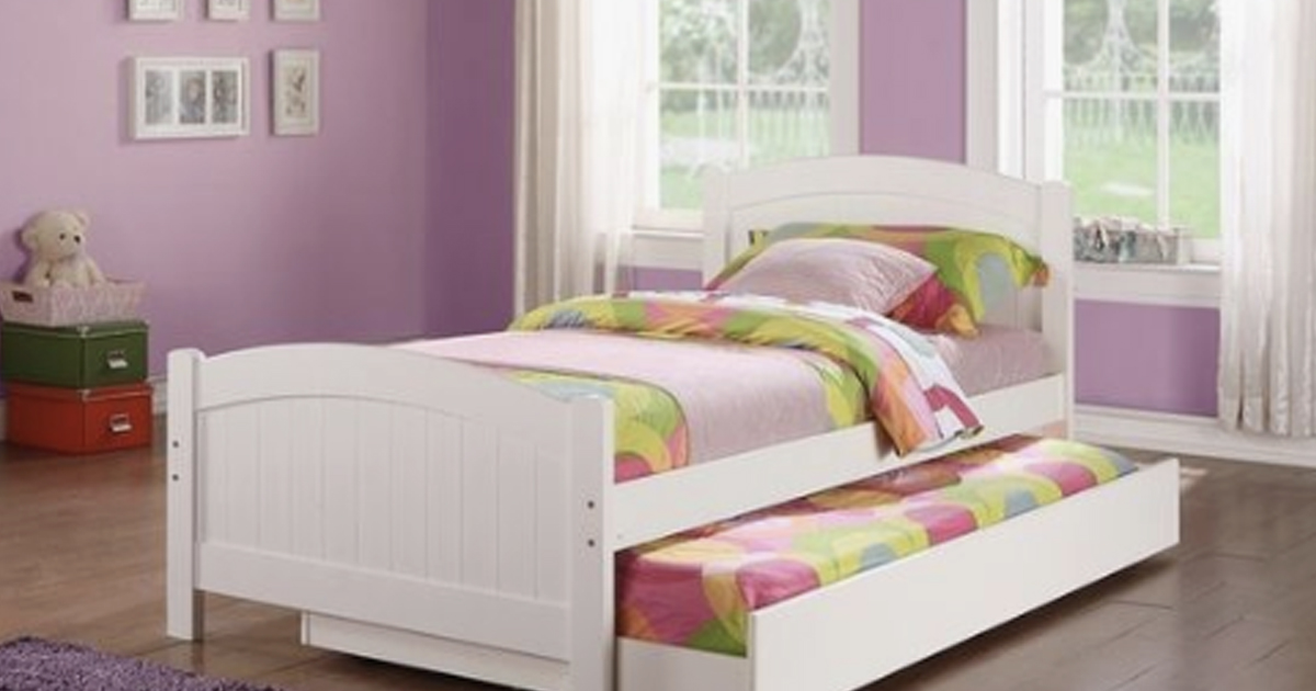 What Is A Trundle Bed? Understanding This Space Saving Bed ...